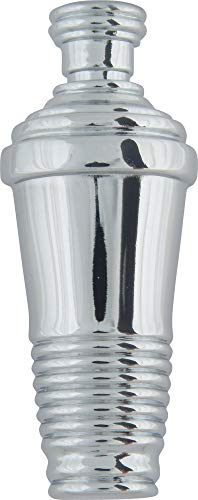 Atlas Homewares 4012-CH 3-Inch Martini Shaker Knob, Polished Chrome