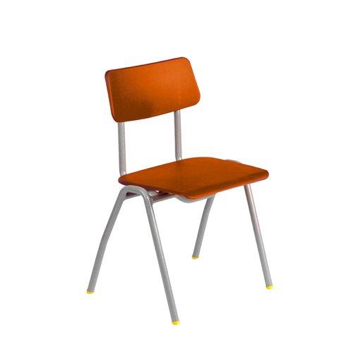 Metalliform bsa-sv-orange standard Classroom sedia con sedile 260mm, arancione
