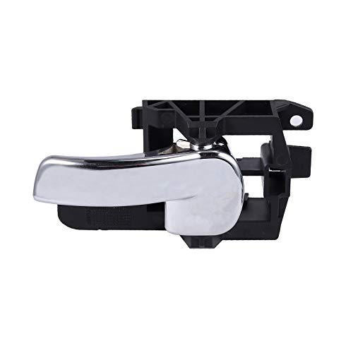 left,black+silver vap26 Car Exterior Left Right Door Handle Outer Rear Or Front For Nissan Qashqai 07-13