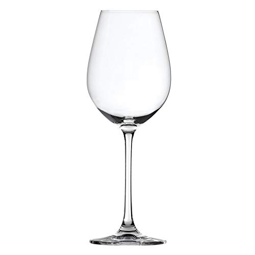 Spiegelau Salute White Wine Glasses - (Clear Crystal, Set of 4, 16.4 oz. capacity each)