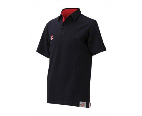 GRAY-NICOLLS Junior Poloshirt, Marineblau, 11-12 Jahre
