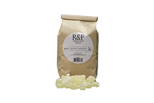 R&F Handmade Paints 916-1 Encaustic Damar Resin Crystals, 1-Pound