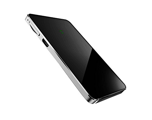 Laiford Dual SIM Card Adapter for iPhone X 8 7 6 S Plus iPad iPod iTouch,Wireless Bluetooth,Stainless Metal Frame,Phone Call SMS Remote Control Camera Longtime Standby Factory Direct Price (Black) by Laiford