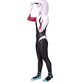 Kids Toddler Jumpsuit Bodysuit Black Spider Tights Zentai Costume