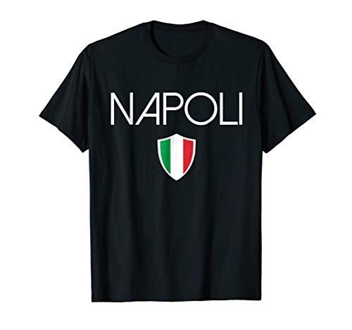 Napoli t-shirt Italian flag Naples Italy soccer souvenir tee (Napoli Soccer Shirt)