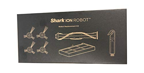 Genuine Shark ION Robot Full Replenishment Kit - RVFRK700 - Includes Includes Four Side Brushes, one Main brushroll, one Filter, and one Cleaning Tool. by Shark Vacuum