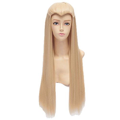 Xcoser Film TH Cosplay Thranduil Fairy Wig for (Thranduil Costume)