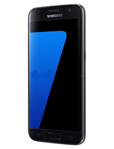 Samsung Galaxy S7 G930F 32GB Factory Unlocked GSM Smartphone International Version (Black) - NO (Celular Phone Android Unlocked)