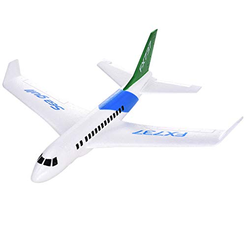 Chranto Lucky 7 !!Father's Day B737 Foam Throwing Gliding Civil Aviation Inertia Aircraft Toy Hand Launch Model