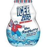 Icee Zero Liquid Water Enhancer Blue Raspberry, 1.62oz, Pack of 4