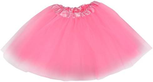 Tutu/Falda Con Tul Rosa Bailarina Danza Baile Diafraz Ballet ...