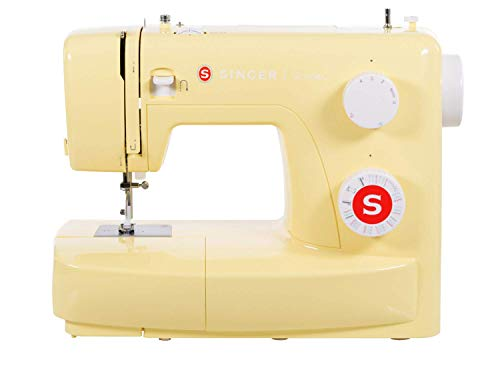 Singer Sewing Machine Simple 3223Y 23 Stitch + Four-Step Buttonhole- REFURBISHED (Certified Refurbished)