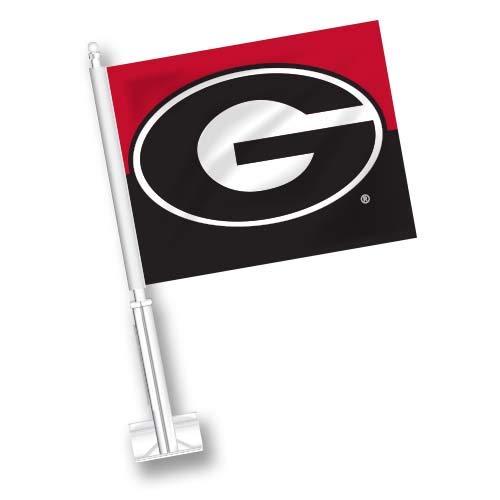 (NCAA Georgia Bulldogs Car Flag Set of 2)