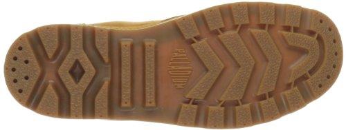 Sport adulte bottines Gum talons Unisexes pour PalladiumPampa Mid Cuff Braun et Marron à Amber Gold bas WPS nbsp;Bottes PAAdXnSB
