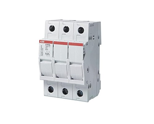 - ABB, E93/30CC, E90 fuseholder for overcurrent and short circuit protection specific for class CC fuses 3 Pole 30A