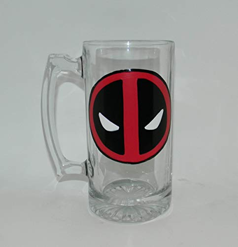 Deadpool beer mug for sale  Delivered anywhere in USA