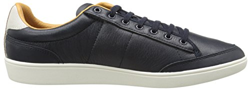 Fred Perry Hopman Leather Navy Blu