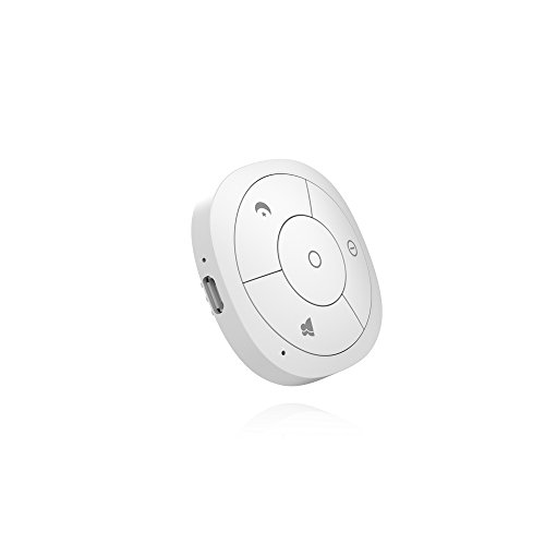 Hank Z-Wave Plus Four Button Scene Controller HKZW-SCN04, White, Works with SmartThings and Vera by Hank
