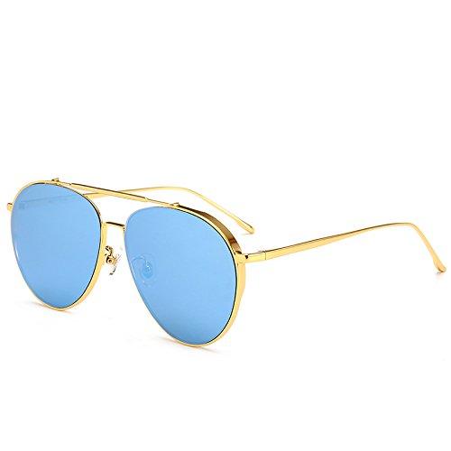polarizada film ocio sol marco del señoras sol Blue del sol recorrido ultravioleta polarizan del gafas de luz de y anti Gafas la de que que conducen gafas té Zhangxin negro pwqCOgxp