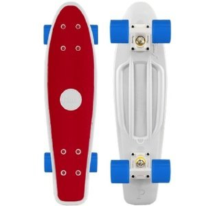 Penny Complete 22-inch Skateboard Red White Cyan