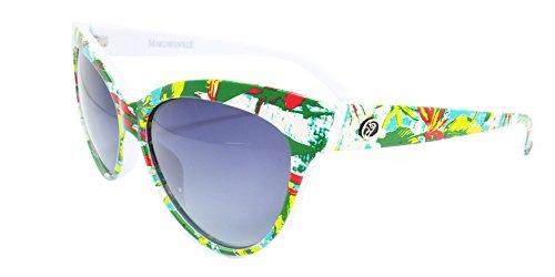 Margaritaville Birds of Paradise Floral Polarized Round Sunglasses