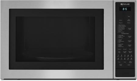 Jenn-Air JMC3415ES 24.75'' Counter top Microwave Oven with Convection Flush-to-Cabinet Design In-Wall Installation 14000 Watt Convection Element and 1.5 cu. ft. Capacity in Stainless by Jenn-Air