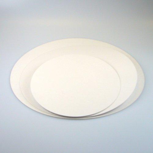 Tortenunterlage Fettabweisende Kartonunterlage 16 cm Cake board 5 stück NewCakes BV