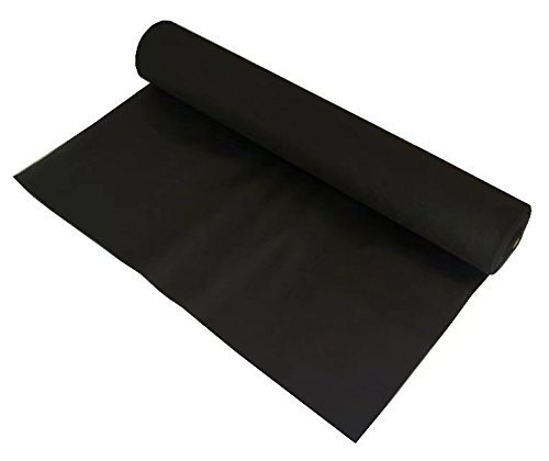 Agfabric Landscape Fabric Weed Barrier Ground Cover Garden Mats for Weeds Block in Raised Garden Bed, 6 Ft X 50 Ft