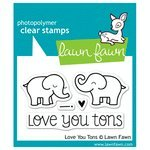 ps - Love You Tons #LF598 (Expressions Stamp Sets)