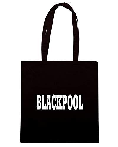 WC0778 Shirt BLACKPOOL Borsa Nera Speed Shopper RIHqWUndIO