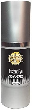 Instant Ageless Eye Cream - Dark Circles & Under Eye Puffiness Remover. Lift Technology to Tighten, Firm, Lift Sagging Skin Around Eyes. Smooths Away Fine Lines & Wrinkles for Men & Women.