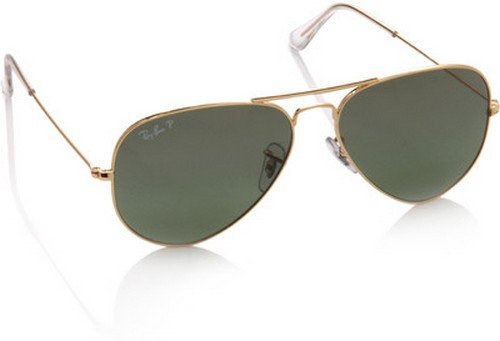Rb3025 Aviator Sunglasses Gold Frame Crystal Gradient Bl : Ray-Ban RB3025 Aviator Large Metal Sunglasses,Non ...