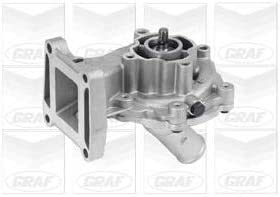 Amazon Com Graf Pa807 Water Pump Automotive