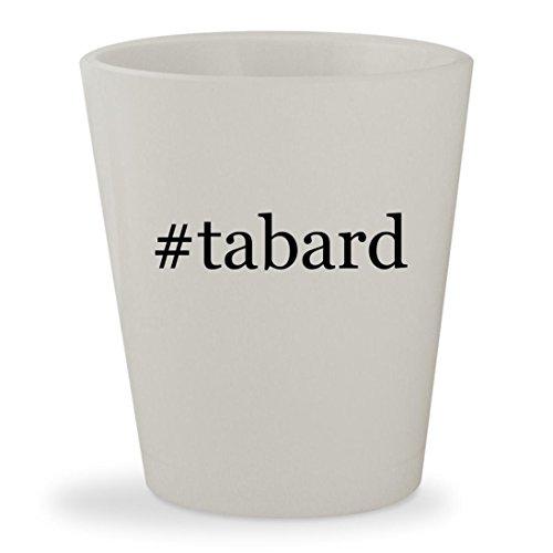 Price comparison product image #tabard - White Hashtag Ceramic 1.5oz Shot Glass