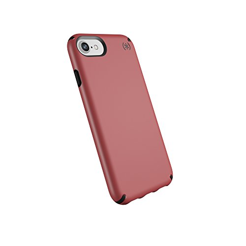 (Speck Products Compatible Phone Case for Apple iPhone 8/iPhone 7/iPhone 6S/iPhone 6, Presidio Mount Case, Velour Pink/Black)