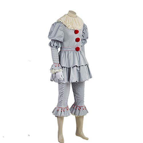 Deluxe Pennywise Costumes - Scary Clown Costume Deluxe Movie Penny
