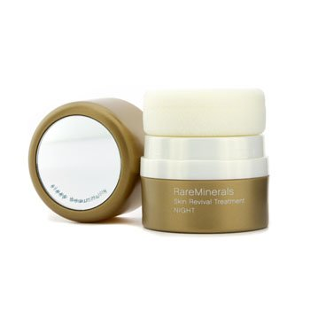 Rareminerals Skin Treatment - RareMinerals Skin Revival Treatment ( Night ) - Light - Bare Escentuals - Powder - RareMinerals Skin Revival Treatment - 4.2g/0.15oz