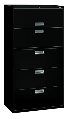 HON 685LP 600 Series 36-Inch by 19-1/4-Inch 5-Drawer Late...