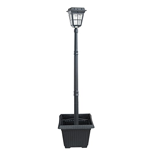 Outdoor Lamp Post With Motion Sensor - 5