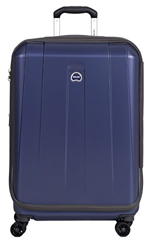 Delsey Luggage Helium Shadow 3.0 25 Inch Exp. Spinner Suiter Trolley (One Size, Navy) by DELSEY Paris