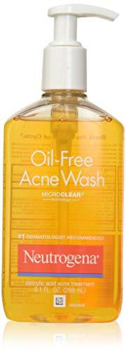 (Neutrogena Oil-Free Acne Wash 9.10 oz (Pack of 2) )