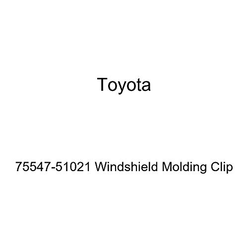 (Genuine Toyota 75547-51021 Windshield Molding Clip)