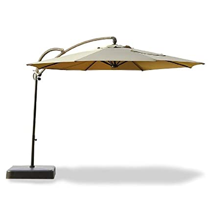 Superbe Essential Garden 10ft. Offset Umbrella Replacement Canopy