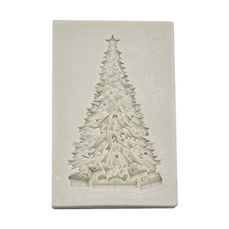 Demarkt Molde de Silicona Para Árbol de Navidad Cubitos de Chocolate Repostería Hornear Caramelos Dulces Jabón Velas 5 * 7.7CM 1PCS: Amazon.es: Hogar