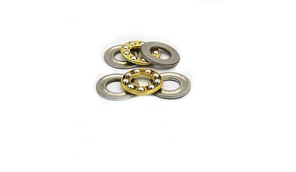 Miniature thrust ball bearing 7x13x4.5mm type F7-13m