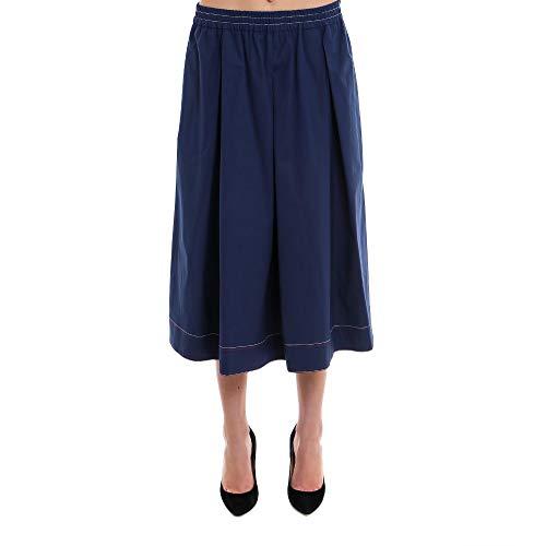 Fay Femme NXW9236696SOFKU809 Bleu Coton Jupe