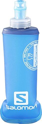 Salomon Faltbarer Becher Soft Flask 250 ml/8 oz, White/Blue, One size, L35980100