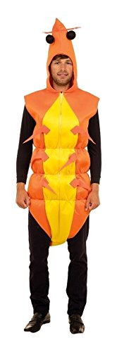 Bristol Novelty AC470 Shrimp Unisex Costume (One Size) -