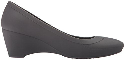 Crocs Mujeres Lina Wedge Pump Espresso