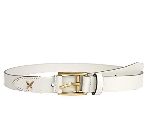 [해외]Gucci Men`s Feather White Leather Belt Gold Buckle Detail 375182 9022 / Gucci Men`s Feather White Leather Belt Gold Buckle Detail 375182 9022 (10542)